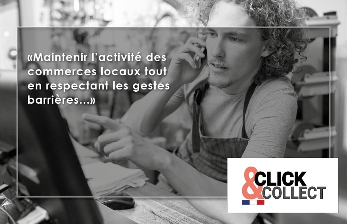Le click ans collect : maintenir et développer son activité de commerce de proximité