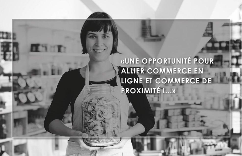 le click and collect : une oppportunité d'allier commerce de proximité et commerce en ligne pour développer votre clientèle