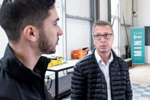 Un duo Parrain / Entrepeneur Initiative Essonne