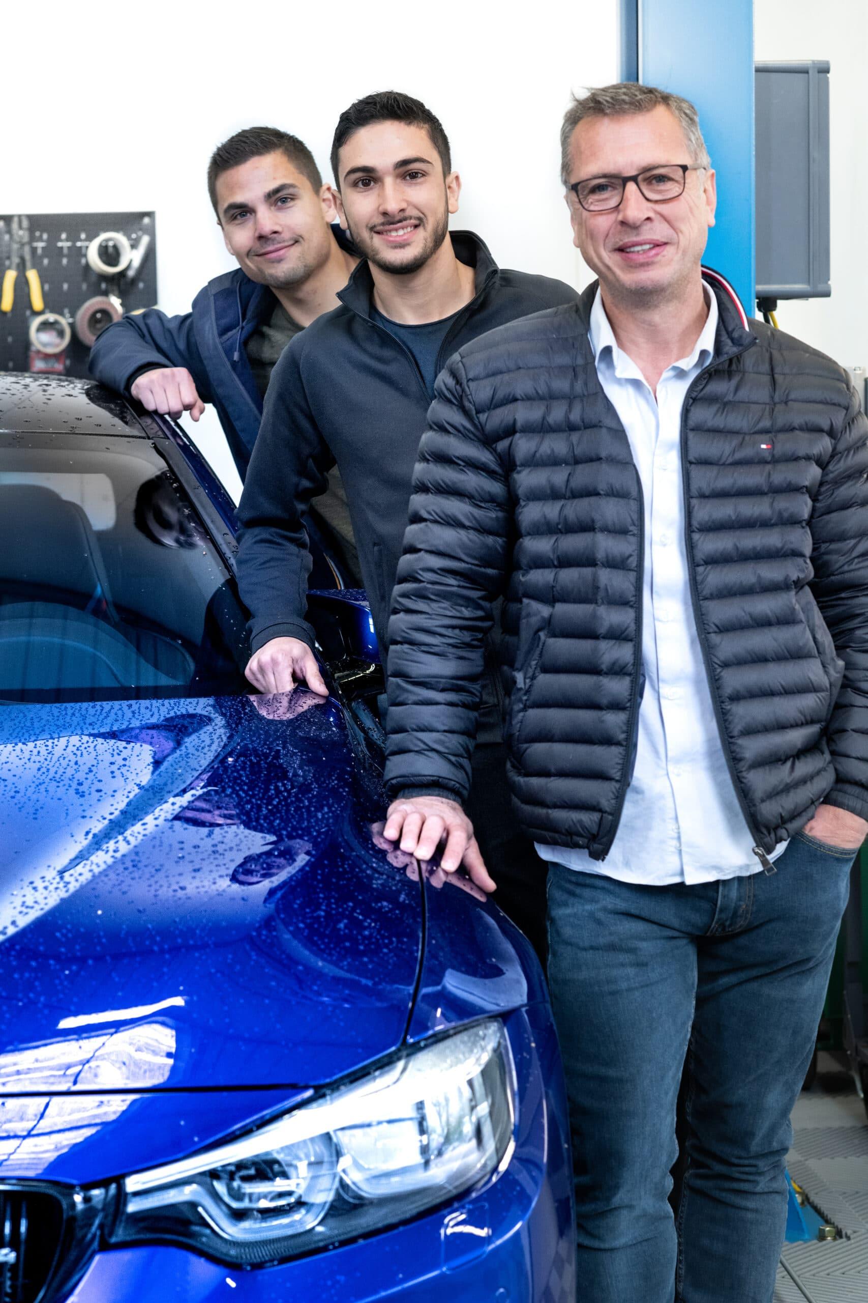 Jeune entrepreneur Initiative Essonne