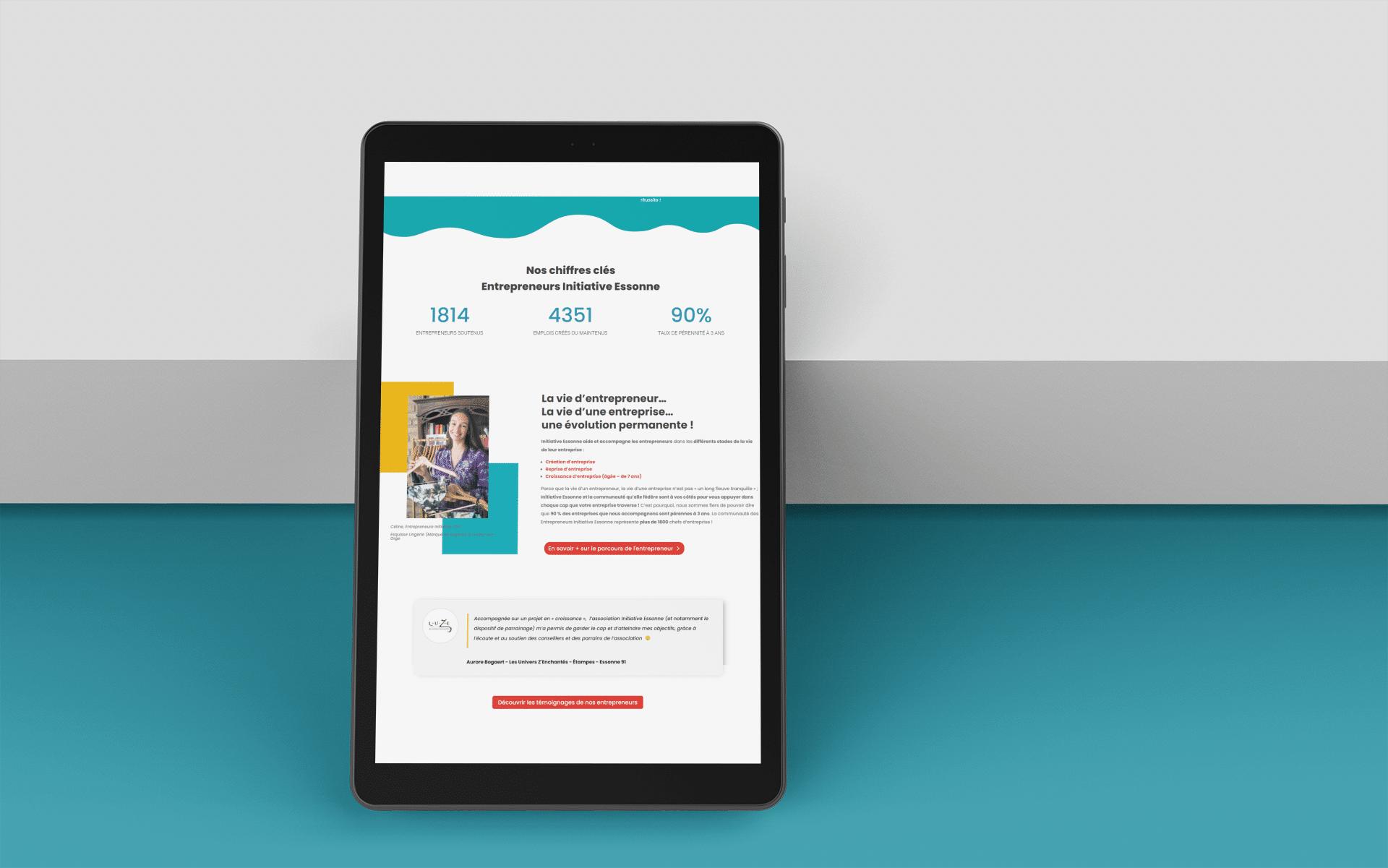 Notre nouveau site web adaptif - responsive